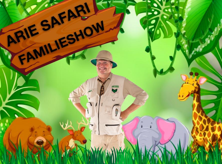 Arie Safari Poster